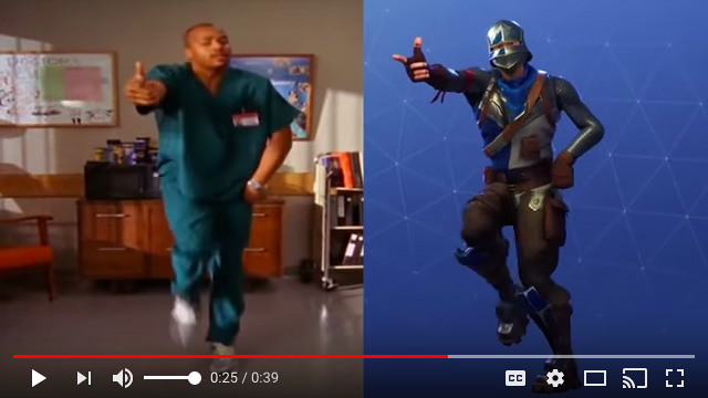 Fortnite Season 1: Turk Dance